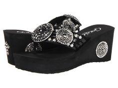 ce486f64ffc3a7 Grazie Roaring ~ Black Black Platform Sandals