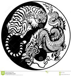 Simbolo Di Yin Yang Del Drago E Della Tigre - Scarica tra oltre 39 milioni di Foto, Immagini e Vettoriali Stock ad Alta Qualità . Iscriviti GRATUITAMENTE oggi. Immagine: 35171674