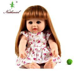 48cm reborn reborn boneca baby vinly puppe kinder lebensechte spielzeug m 79f74a4208fa