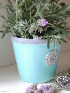 homework: The Dirt: an inspired herb pot