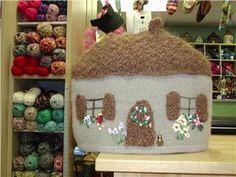 Cottage Tea Cozy by feltedhare, via Flickr