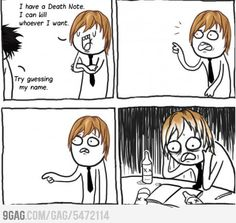 Thats the whole story (Death Note)
