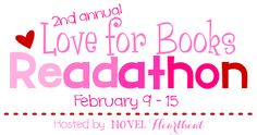 2nd Annual Love for Books Readathon [February 9 - 15, 2015]