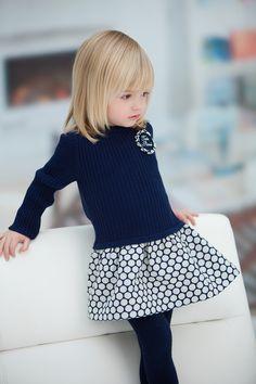 Tutto Piccolo. The perfect dress FW14 | #kidstylin