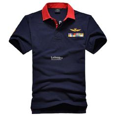 Italian Aeronautica Militare #1 Flags Fashion Men Polo T-shirt