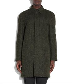 A.P.C. tweed coat