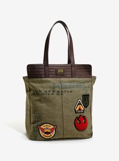 Loungefly X Star Wars Rogue One patch tote bag at Box Lunch