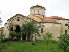 Ayasofya churc-Trabzon empire period-Constructive: Emperor Manuel Komnenos-Year built: is still used as a museum)-Trabzon-Tuekiye