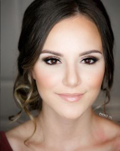 beautiful natural wedding makeup ~ we ❤ this! moncheribridals.com