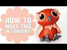 Voici 8 tutoriels pour vous aider à modeler de mignons personnages en pâte Fimo ou pâte à sucre! (fondant) - Bricolages - Trucs et Bricolages