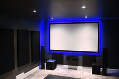 Post with 1421 views. Shared by Canaan's Home Theatre Build Home Theater Screens, Home Theater Room Design, Home Theater Speakers, Home Theater Rooms, Home Theater Projectors, Theatre Design, Cinema Room, Framing Doorway, Modern Tv Room