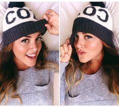 Cozy Hat - Knitted H