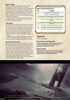 Onion Souls - Catarina's Finest News Source — kor-artificer: Warlock Otherworldly Patron: The. Tabletop Rpg, Tabletop Games, Dungeons And Dragons Rules, Dnd Classes, Dnd 5e Homebrew, Dungeon Maps, News Source, Character Creation, Archetypes
