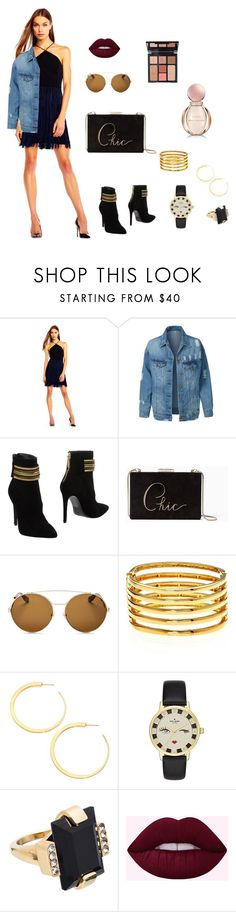 """Laid Back"" by newyorkdressonline on Polyvore featuring Aidan Mattox, LE3NO, Pierre Balmain, Kate Spade, Givenchy, Kenneth Jay Lane, Vita Fede, Marni, Charlotte Tilbury and Bulgari"