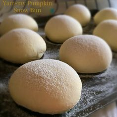 My Mind Patch: Natural Yeast Yam-my Pumpkin Snow Bun 天然酵母雪中宝