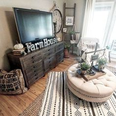 Adorable Cozy And Rustic Chic Living Room For Your Beautiful Home Decor Ideas 77
