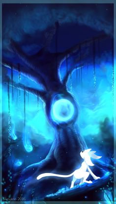 18 Best Ori And The Blind Forest Images Forest Art Drawings Games