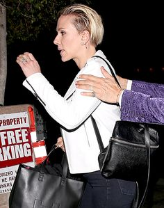 Scarlett Johansson Shows Off Wedding Ring and Band: Photo - Us Weekly