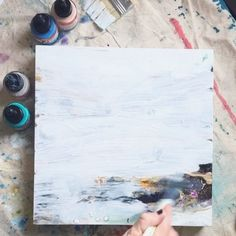 Starting fresh by painting over Process Art, Lessons Learned, Fresh, Teaching, Creative, Painting, Instagram, Paint, Draw