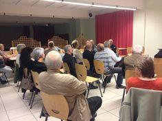 2ième réunion de quartier, salle polyvalente.