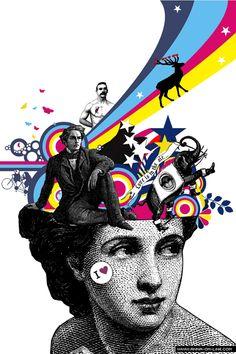 What I love poster by anna maria lopez lopez aka annaOMline