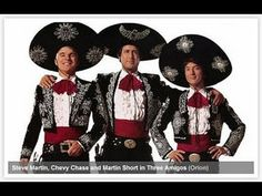 Three Amigos (1986) Full Movie¡Three Amigos! (1986) [USA:PG, 1 h 44 min]     a.k.a. Three Amigos (1986) Adventure, Comedy, Western Steve Martin, Chevy Chase, Martin Short, Alfonso Arau Director: John Landis; Writers: Steve Martin, Lorne Michaels, Randy Newman IMDb user rating: ★★★★★★☆☆☆☆ 6.2/10 (40,295 votes) Three out of work silent movie actors are accidentally