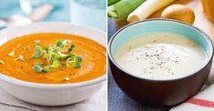 6 snabba och billiga soppor Soup Recipes, Vegetarian Recipes, Healthy Recipes, Healthy Food, Quorn, Fitness Diet, Granola, Food Hacks, Parmesan