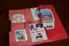 Farm Lapbook--sizing, matching, abc's, etc. Super cute for my 2 1/2 year old!