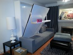 Awesome Murphy Bed Sofa Combo