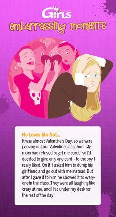 Teens embarassing stories