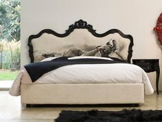 Hand-painted, one of a kind Marilyn Monroe furniture by Moda, a brand of DiLiddo & Perego (Milan)
