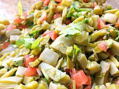 Mexican Cactus Salad Recipe   Living Mi Vida Loca Nopal Salad Recipe, Nopales Salad, Nopales Recipe, Orange Recipes, Avocado Recipes, Salad Recipes, Mexican Cooking, Mexican Food Recipes, Ethnic Recipes
