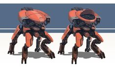 ArtStation - Robots, Sam Brown