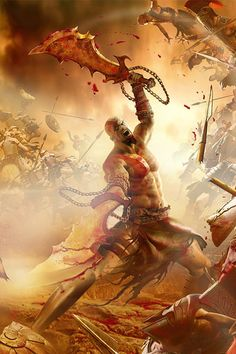 Resultado de imagem para god of war wallpaper iphone