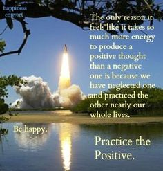 Practice the positive quote via www.Facebook.com/HappinessConvert