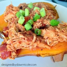 Paleo & Whole30 Slow Cooker BBQ Chicken