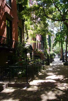 NYC. West 10th Street, Greenwich Village