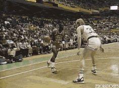 Jordan scorches Bird gifs gif sports sports gif larry bird gifs hoops jordan gifs mj vs bird coll images historic