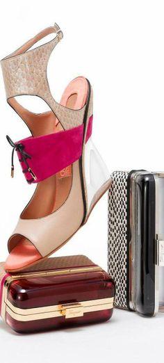 Ferragamo Sandal 2014 MODEL CODE 01G673 573557 HEEL 11 CM IN NAPPA
