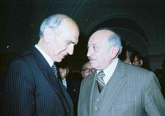 Simon Wiesenthal und Rudolf Kirchschläger  Jüdisches Museum Wien