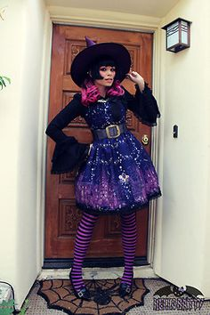 Halloween Witch lolita alice and the pirates gothic lolita