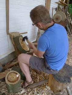 How to carve a wooden bowl- by Robin Wood