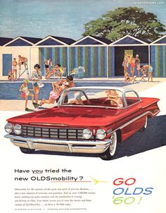 1960 Oldsmobile - Have you tried the new - Original Ad