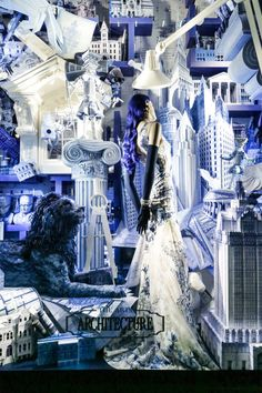 Click through for the best window displays from the world's most famous department stores.