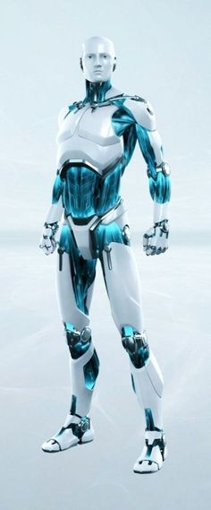 (Rendered Smart Security Robot by Puppetworks Studios for Eset)
