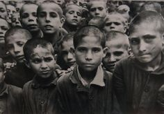 David Seymour. Spanish Civil war, Children