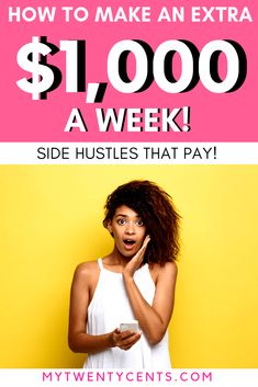 Do you want to make extra cash but don't want to leave the house? These side hustle ideas are perfect for you! Make more money and save more money and be your own boss! by AndyHillMKM Read Make Quick Money, Ways To Save Money, Make More Money, Money Tips, Money Saving Tips, Extra Money, Money Fast, No Spend Challenge, Hustle Money
