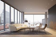 Duplex penthouse and terraces top Tadao Ando's 152 Elizabeth Street