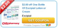 $2.00 off One Bottle Of Excipial Lotion or Cream #coupon