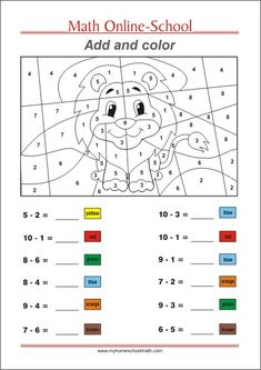 Task Shakti - A Earn Get Problem Add And Color - Math Worksheets Grade Math Coloring Worksheets, First Grade Math Worksheets, Free Printable Math Worksheets, 1st Grade Activities, School Worksheets, 1st Grade Math, Printable Coloring, Grade 2, 1st Grade Crafts